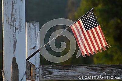 Miniature USA Flag