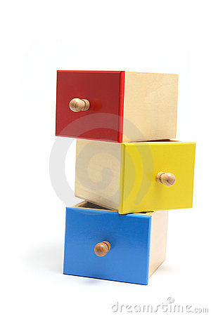 Miniature Wooden Drawers