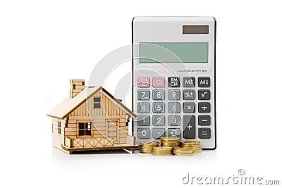 De leningscalculator van het huis