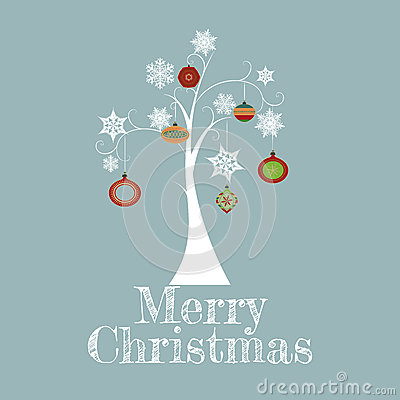 Minimal Christmas Tree Card