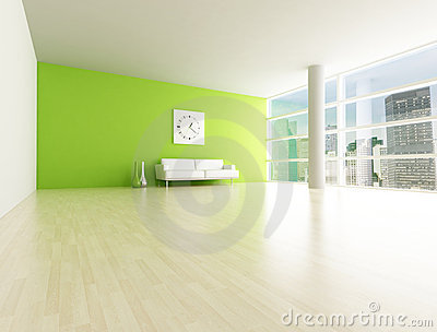 Minimal city apartment