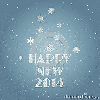 Minimal Happy New Year background