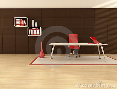 Minimal office space