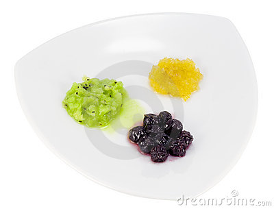 Minimalism in food concept