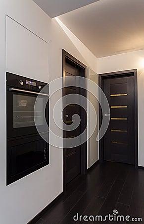 Minimalist apartment - hallway