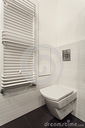 Minimalist apartment - toilet