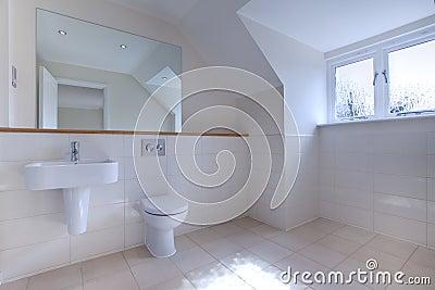 Minimalist chic bathroom