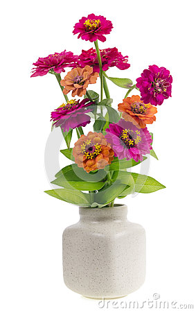 Minimalistic  bouquet  - mini magenta flowers
