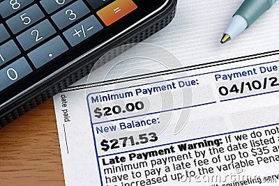 Minimum Payment Due