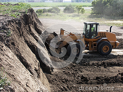 Mining dirt