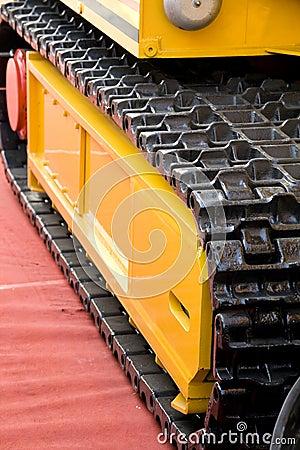 Mining machine track