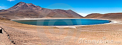 Minique Lake - Atacama