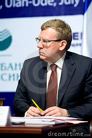 Minister of finance Kudrin Editorial Stock Photo