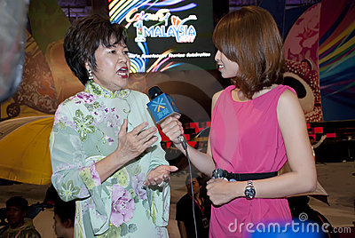 Minister of Tourism Malaysia Editorial Image