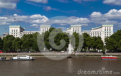 Ministry of Defense Building London England Editorial Stock Image
