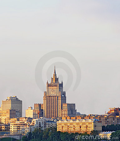 Ministry of Foreign Affairs Russia, Moscow