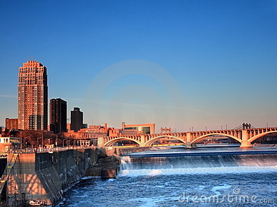 Minneapolis at sunrise