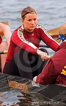 Minnesota Women s Rowing Team Editorial Stock Image