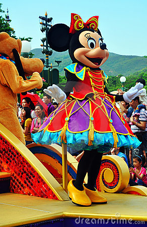 Minnie mouse Editorial Stock Image