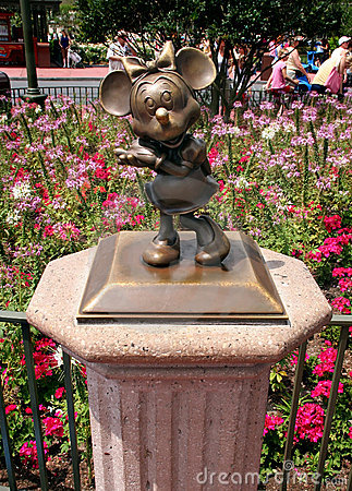 Minnie Mouse Imagen de archivo editorial