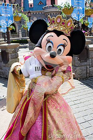 Minnie Mouse During A ...