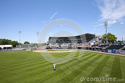 Minor League Baseball Editorial Image