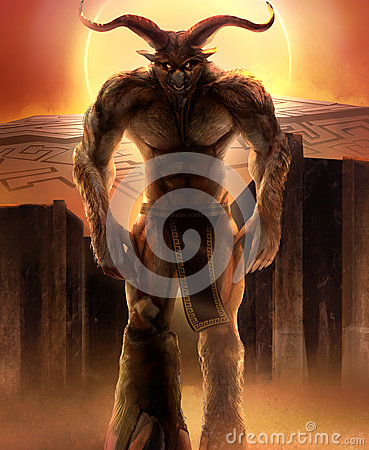 Free Minotaur Stock Photography - 42516912