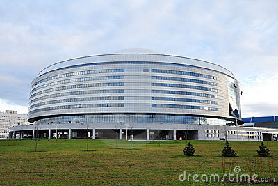 Minsk Arena Editorial Stock Image