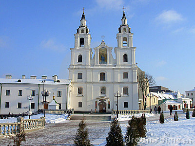 Minsk. A cathedral.