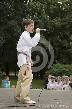 Minsk City Holiday: 945 years, 9 September 2012 Editorial Stock Photo
