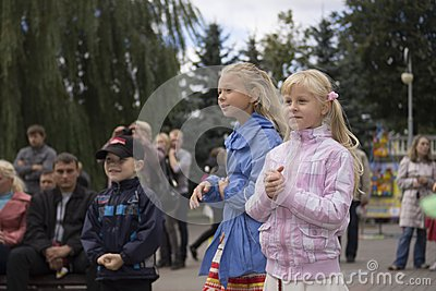 Minsk City Holiday: 945 years, 9 September 2012 Editorial Image