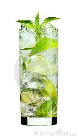 Free Mint Mojito Drink Royalty Free Stock Images - 15547849