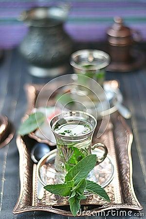 Mint tea.