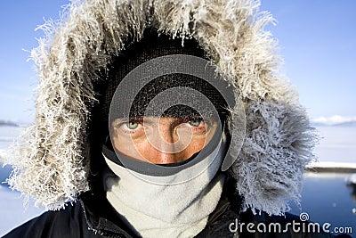 A minus van veertig graden