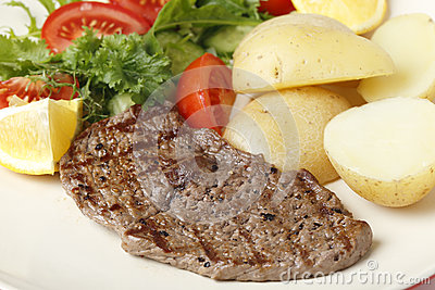 Minute steak meal