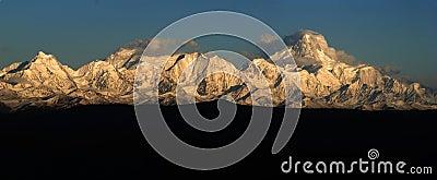 Minya Konka mountains