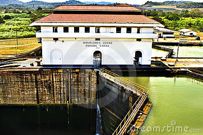Miraflores Locks, Panama Canal Editorial Image