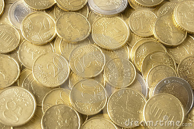Mirage of euro coins
