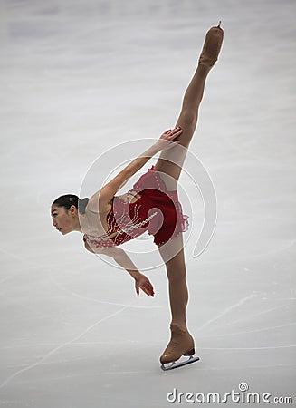 Mirai Nagasu (USA) Editorial Stock Photo