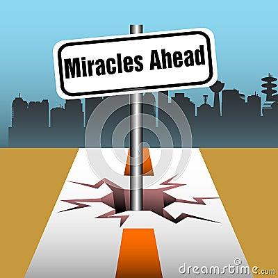 Mirakel framåt