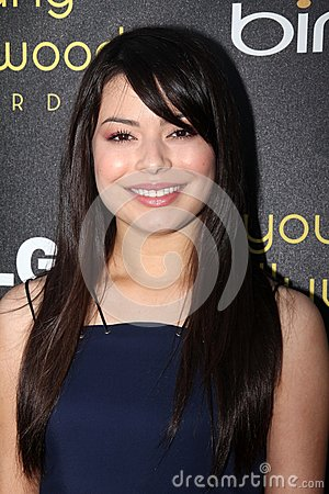 Miranda Cosgrove at the 14th Annual Young Hollywood Awards, Hollywood Athletic Club, Hollywood, CA 06-14-12 Editorial Stock Photo