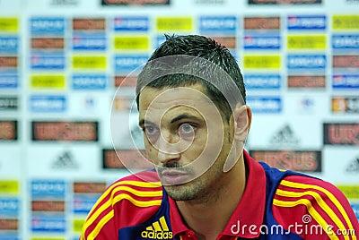 Mirel Radoi, football romanian player Editorial Photography