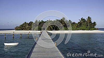 Mirihi - A small tropical island, Maldives
