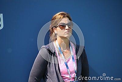 Mirka Federer Редакционное Стоковое Фото