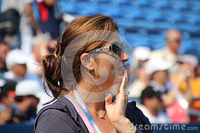 Mirka Federer Immagine Stock Editoriale