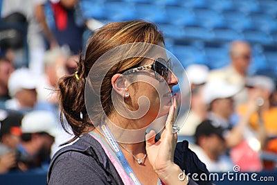 Mirka Federer Editorial Stock Image