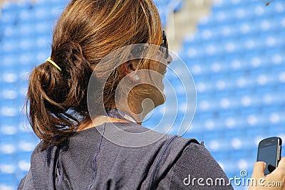 Mirka Federer Editorial Image