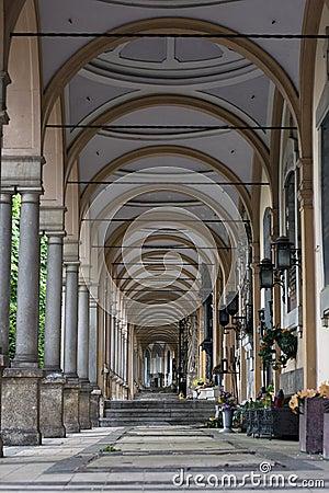Mirogoj arcades