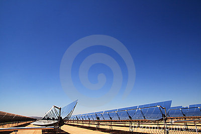 Miroirs de courant ascendant d nergie solaire for Miroir de courant