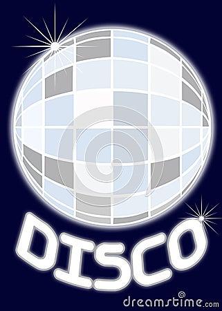 Mirror ball disco party